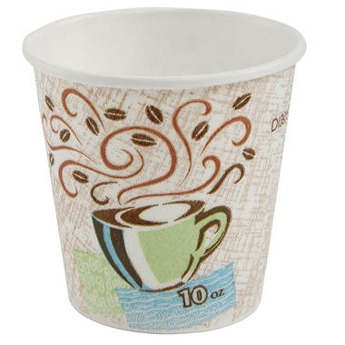 Dixie - PerfecTouch, Insulated Paper Cup, 10 oz. - 500 Cups