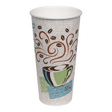 Dixie PerfecTouch Insulated Paper Cups, Coffee Haze, 20 oz. (100 ct.)