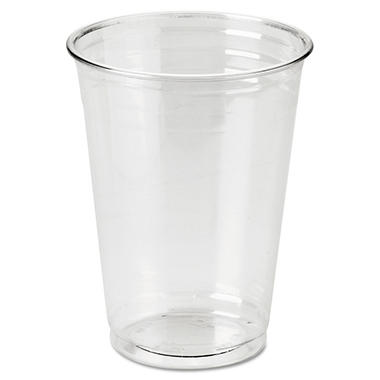 Dixie - Plastic PETE Cup, Clear, Cold, 10 oz. - 500 Cups
