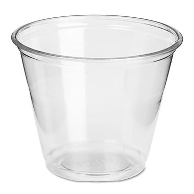 Dixie - Plastic PETE Cup, Clear, Cold, 9 oz. - 1,000 Cups