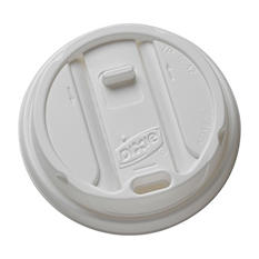 Dixie Smart Top Reclosable Plastic Lids, Fits 12-16 oz. (1,000 ct.)