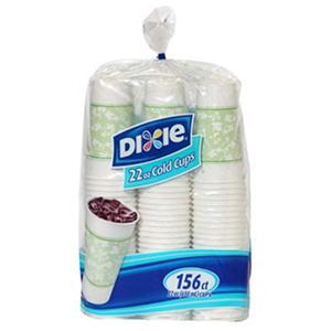 Dixie Cold Paper Cups (22oz., 156ct.)