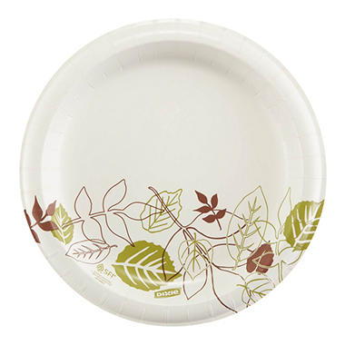 "Dixie - Paper Plates in Dispenser Box, 8.5"" - 600 Plates"