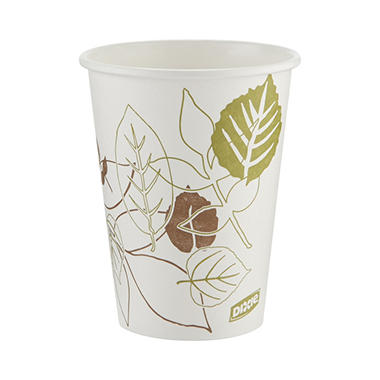 Dixie - Paper Hot Cups, 12 oz. - 1,000 Cups