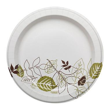 Dixie Ultra Paper Plates, Heavyweight, 10.12