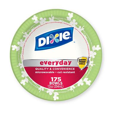 Dixie Paper Bowls, 12 oz. (175 ct.)
