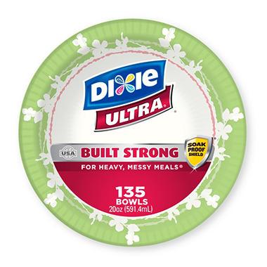 Dixie Ultra Paper Bowls, 20 oz. (135 ct.)
