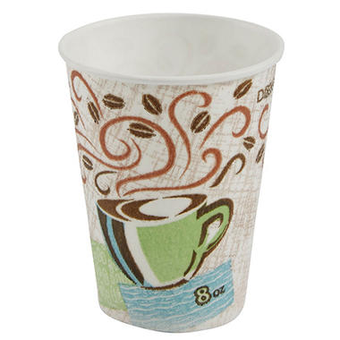 Dixie - PerfecTouch, Insulated Paper Cup, 8 oz. - 1,000 Cups