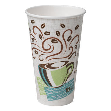 Dixie - PerfecTouch, Insulated Paper Cup, 16 oz. - 50 Cups