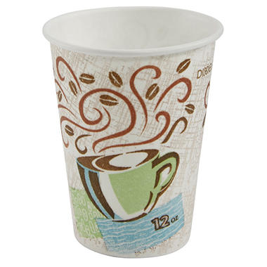 Dixie - PerfecTouch, Insulated Paper Cup, 12 oz. - 500 Cups