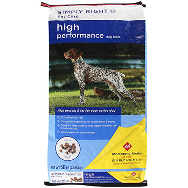 Simply Right? Pet Care High Performance Dog Food - 50 lb.