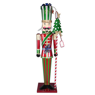 "75"" Metal Toy Soldier"