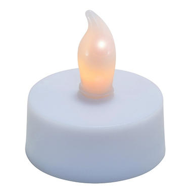 LED Tea Lights with Replacement Batteries - 24 pk.
