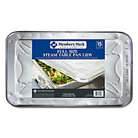 Daily Chef  Aluminum Steam Table Lids, Full Size (15ct.)