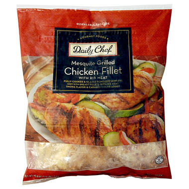 Daily Chef™ Mesquite Grilled Chicken Fillet - 2.9 lbs.