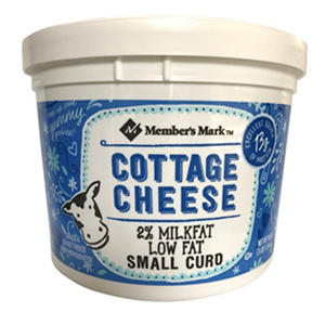 Daily Chef™ Small Curd Low Fat Cottage Cheese - 3 lb.