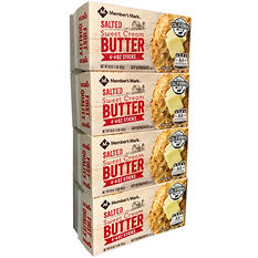 Daily Chef Salted Butter Quarters (1 lb. quarters, 4 ct.)