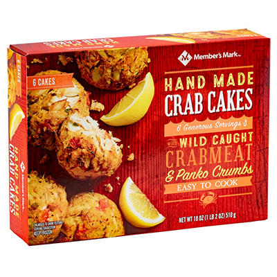 Daily Chef Handmade Crab Cakes - 18 oz.