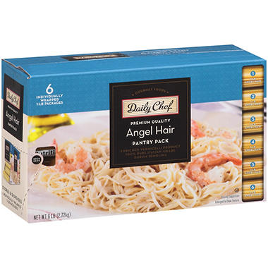 Daily Chef? Angel Hair Pantry Pack - 1 lb. - 6 ct.