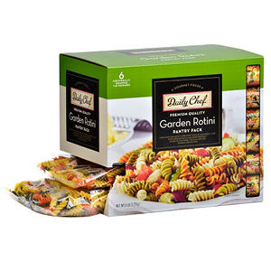 Daily Chef Garden Rotini Pantry Pack - 1 lb. - 6 ct.