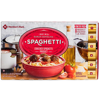Daily Chef? Spaghetti Pantry Pack - 1 lb. - 6 ct.