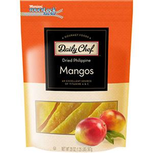 Daily Chef Dried Philippine Mangos (20 oz.)