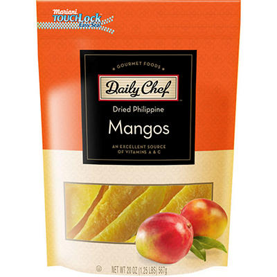 Daily Chef™ Dried Philippine Mangos - 20 oz.