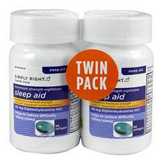 SIMPLY RIGHT SLEEP AID 2X96CT