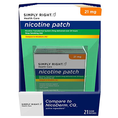 Simply Right Nicotine Patch Step 1 - 21 ct.