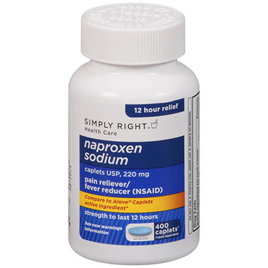 Simply Right? Naproxen Sodium - 400 ct.