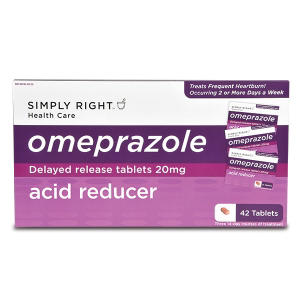 Simply Right Acid Reducer, Delayed Release Tables (42 ct.)