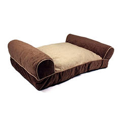 Simply Right Large Premium Pet Chaise Lounger - Brown
