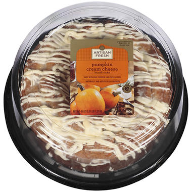 Artisan Fresh? Pumpkin Cream Cheese Bundt Cake - 45 oz.
