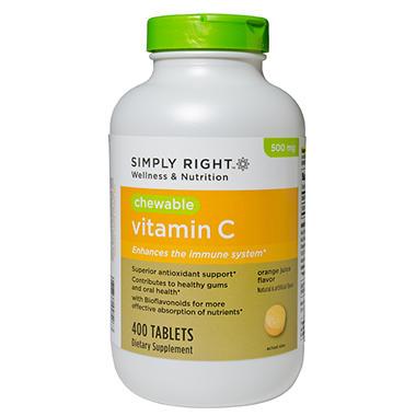 Vitamin C Chewable - 400 ct.