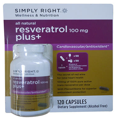 RESVERATROL PLUS 120CT