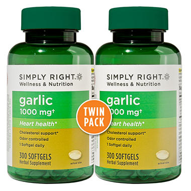 Simply Right Odorless Garlic - 2 / 300 ct.
