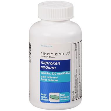 Simply Right? Naproxen Sodium - 160 ct.