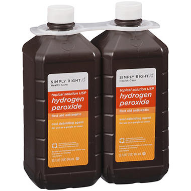 Simply Right™ Hydrogen Peroxide - 32 fl. oz. - 2 ct.