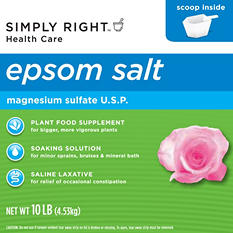 Simply Right Epsom Salt - 10 lb.