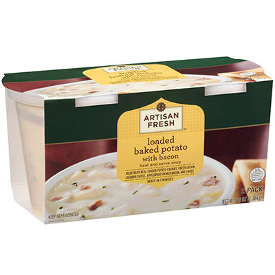 Artisan Fresh  Loaded Baked Potato Soup - 2/24 oz.