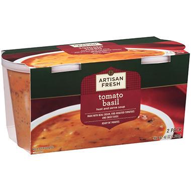 Artisan Fresh Tomato Basil Soup - 2 pk..