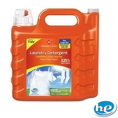 Member's Mark Liquid Laundry Detergent - Fresh Clean Scent - 225 oz. - 146 loads