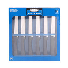 Bakers & Chefs Steak Knives - 12 pc.