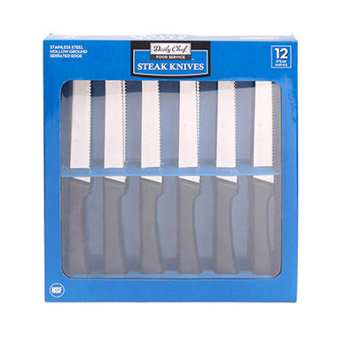Daily Chef Steak Knives (12pc.)