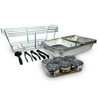 Daily Chef Party Set w/ Safe Heat 2 Chafing Fuel (24pc.)