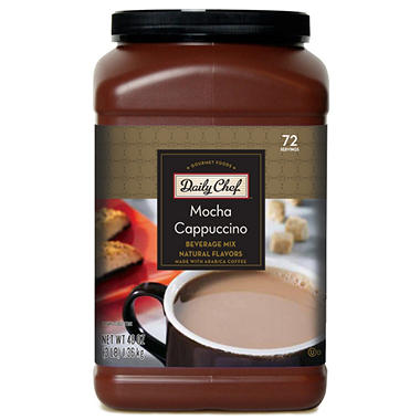 Daily Chef Mocha Cappuccino Beverage Mix 2 Pk Sam S Club