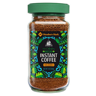 100% Colombian Decaffeinated Freeze Dried Coffee