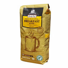 Daily Chef Coffee Breakfast Blend Rainforest Certified, Whole Bean (40 oz.)
