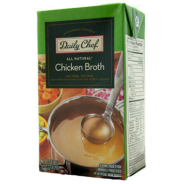 Daily Chef Chicken Broth - 32 oz. - 6 pk