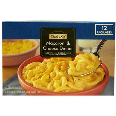 Daily Chef Macaroni & Cheese Dinner - 7.25 oz. - 12 ct.